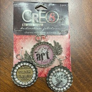 Cre8 by Amy Labbe Charm Set